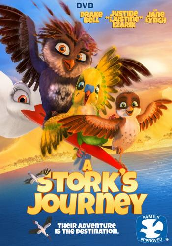 A Stork's Journey (2017) 720p BRRip 750MB - MkvCage