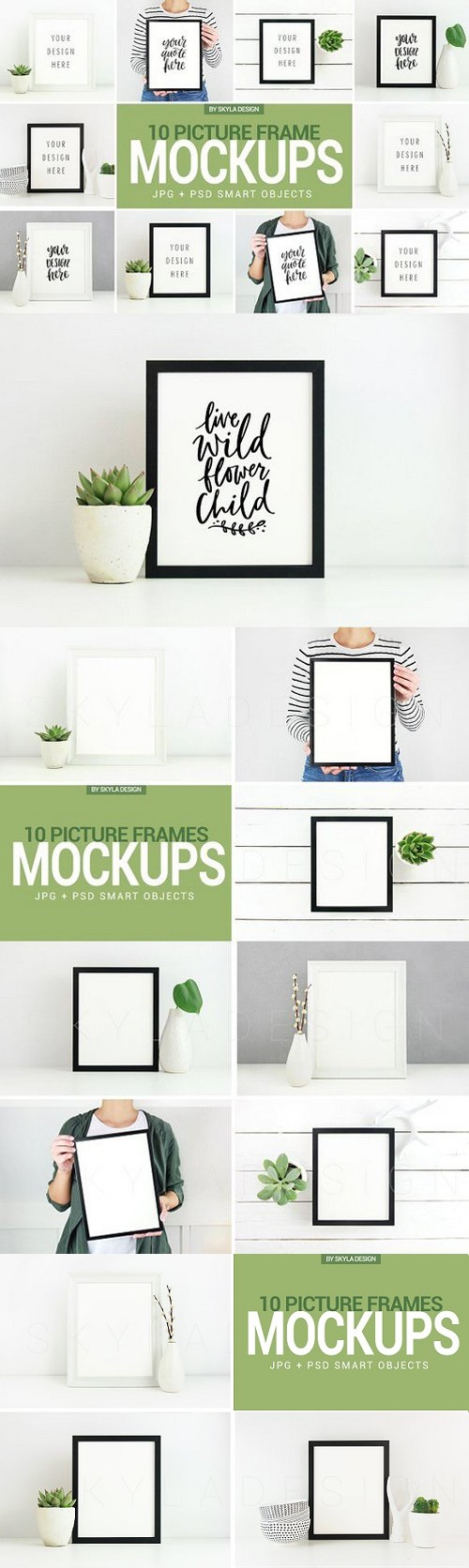 Poster & Picture frame mockup photos 1436427