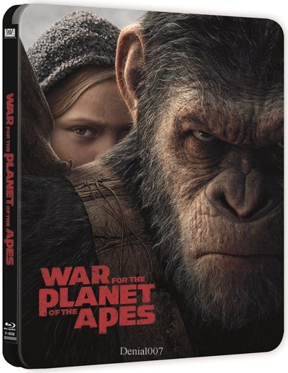 War for the Planet of the Apes (2017) BRRip XviD MP3-RARBG