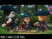 Маша и Медведь  (64-я серия) (Три Машкетёра) (2017) WEB-DLRip