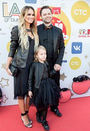 гогунский с женой и дочерью