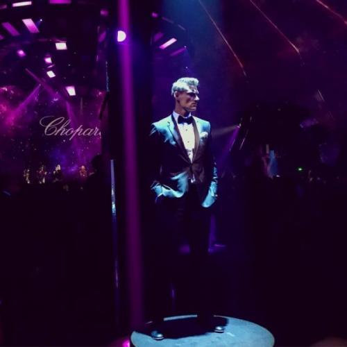 Алексей Воробьев появился на Каннском кинофестивале в образе Джеймса Бонда