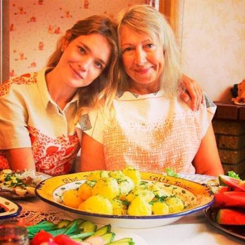 Наталья Водянова с мамой Ларисой Громовой