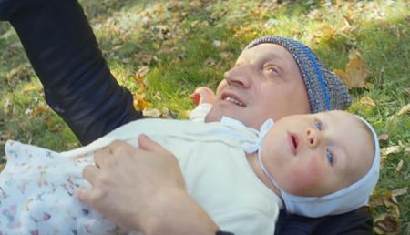 Гоша Куценко с младшей дочерью Женей