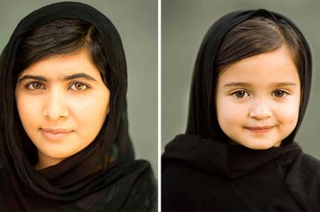 Малала Юсуфзай и Скаут Ларсон