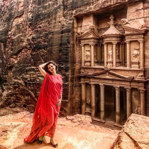 Екатерину Климову сравнили с арабской богиней
