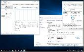 Windows 10 Pro 16215.1000 rs3 by Lopatkin 2x1 (x86-x64) (2017) [Rus]
