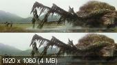 Без черных полос (На весь экран)  Конг: Остров черепа 3D / Kong: Skull Island 3D (BY_AMSTAFF)  Вертикальная анаморфная стереопара