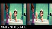 Босс-молокосос 3D / The Boss Baby 3D (Лицензия) Горизонтальная анаморфная стереопара.