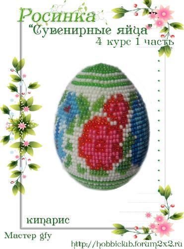 """Галерея работ студии """"Сувенирные яйца"""" 4 курс 1 часть E9a32aeb2dd8b62e687da2d3af6d7e70"""