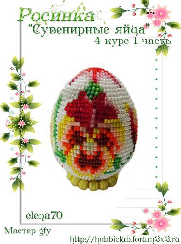 """Галерея работ студии """"Сувенирные яйца"""" 4 курс 1 часть 8ca2ddd29da178fb1b0d8affa87972a7"""