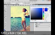 Ломо эффект на фотографии (2017) HDRip