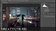 Эффект мокрого стекла в Photoshop (2017) HDRip