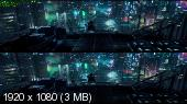 Призрак в доспехах 3D / Ghost in the Shell 3D ( by Ash61) Вертикальная анаморфная