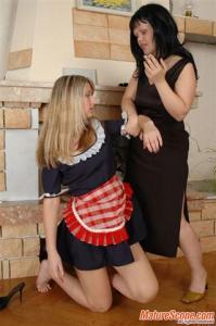 Lesbians - Mature and Young - Photoset 39