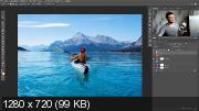 Быстрое улучшение фото в фотошопе (2017) HDRip