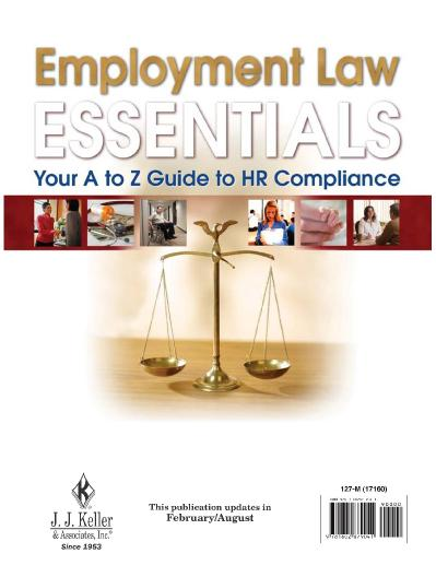 Employment Law Essentials Your A to Z Guide to HR Compliance